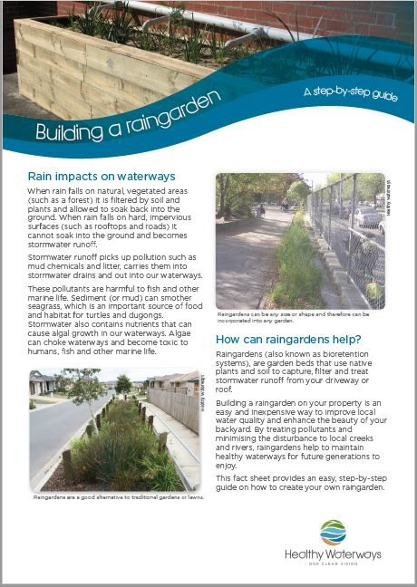 Building a raingarden - A step-by-step guide