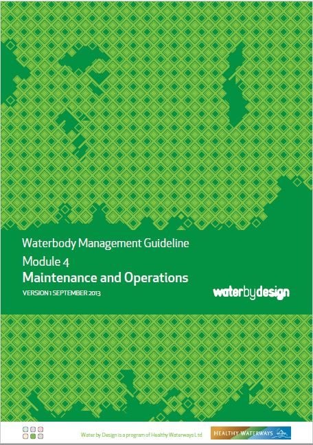Waterbody Management Guideline: Module 4 Maintenance and Operations