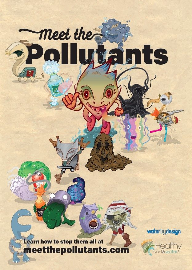 Meet the Pollutants - Poster