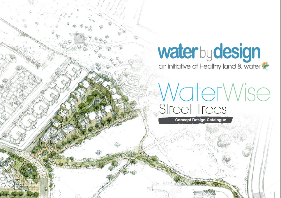 water by design street trees